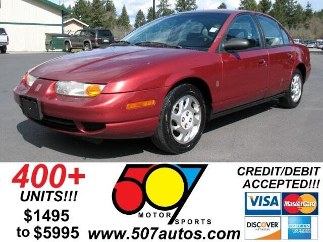 2000 Saturn S-Series 4 Dr SL2 Sedan