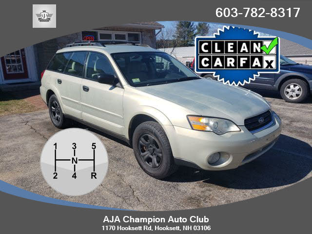 2007 Subaru Outback 2.5i Basic Wagon AWD