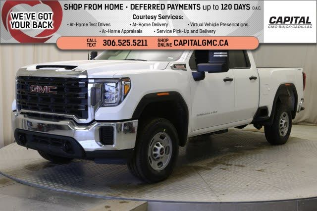 2020 GMC Sierra 2500HD Base Double Cab 4WD