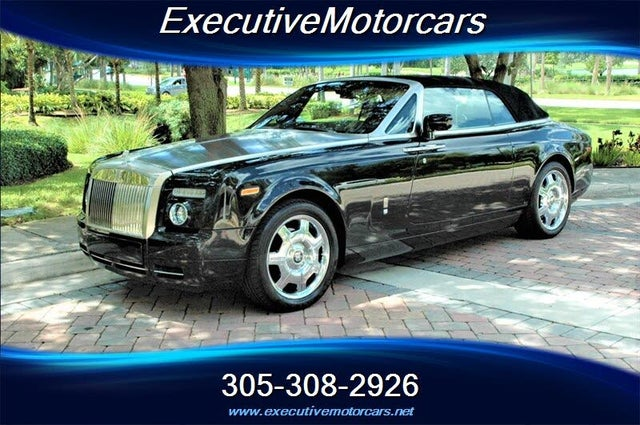 2008 Rolls-Royce Phantom Drophead Coupe Convertible