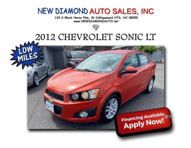 2012 Chevrolet Sonic 2LT Sedan FWD
