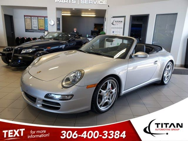 2006 Porsche 911 Carrera 4S AWD Convertible