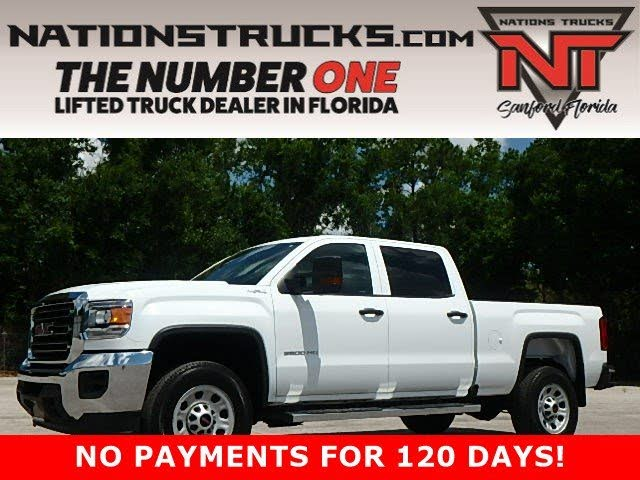 2018 GMC Sierra 3500HD Base Crew Cab 4WD