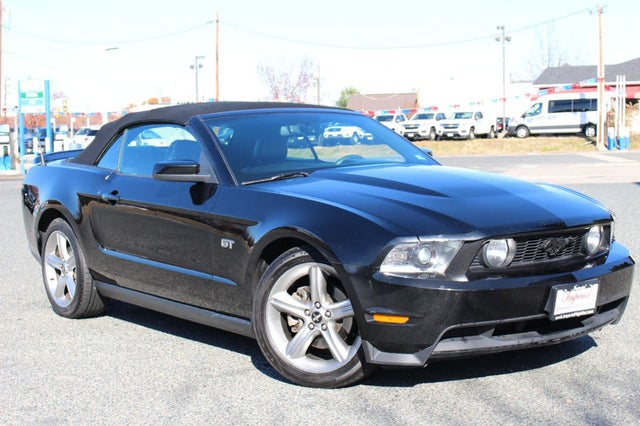 2010 Ford Mustang GT Premium Convertible RWD