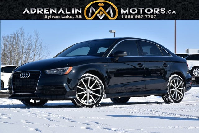 2015 Audi A3 2.0T quattro Technik Sedan AWD
