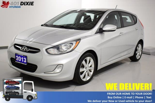 2013 Hyundai Accent GLS 4-Door Hatchback FWD