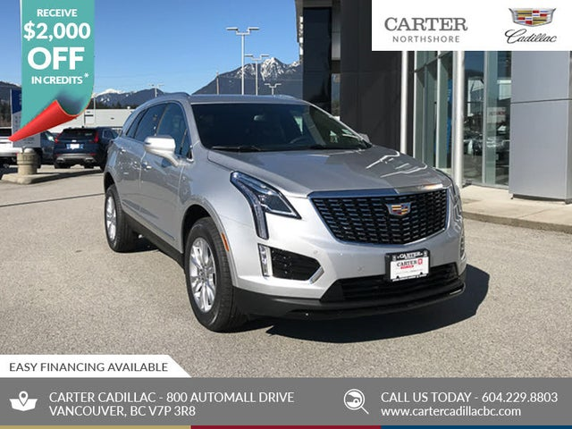 New Cadillac XT5 for Sale in Vancouver, BC - CarGurus
