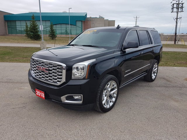 Used 2018 GMC Yukon Denali 4WD for Sale (with Dealer ...