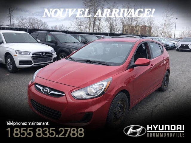 2014 Hyundai Accent GL 4-Door Hatchback FWD