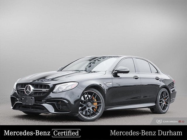 2018 Mercedes-Benz E-Class E AMG 63 S 4MATIC Sedan AWD