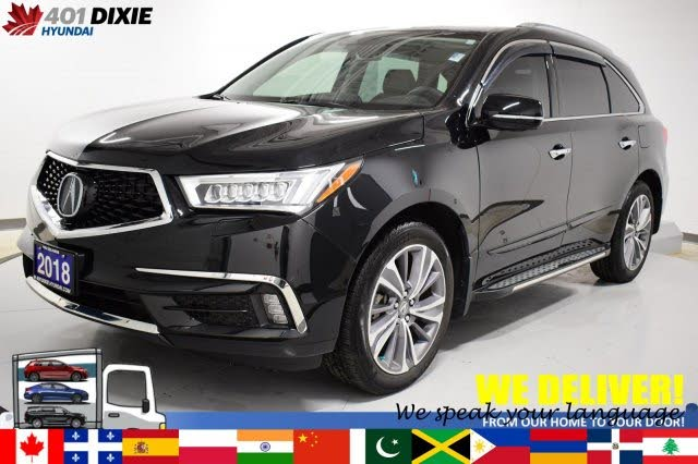 2018 Acura MDX SH-AWD with Elite Package