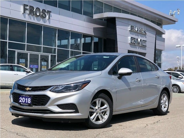2018 Chevrolet Cruze LT Sedan FWD