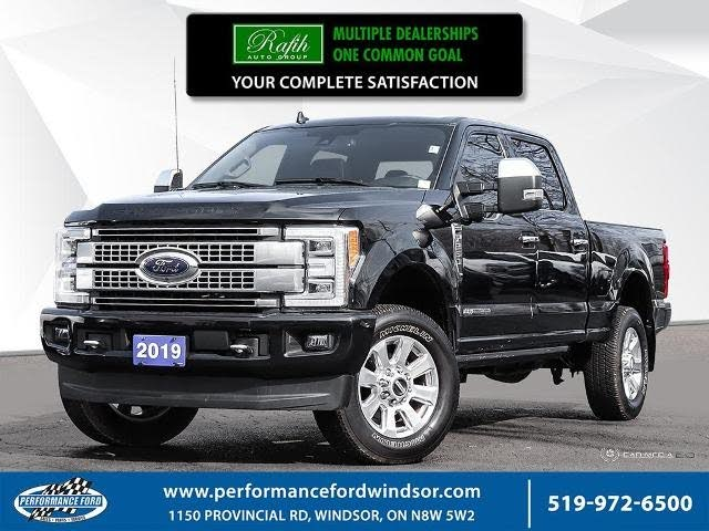2019 Ford F-250 Super Duty Platinum Crew Cab 4WD