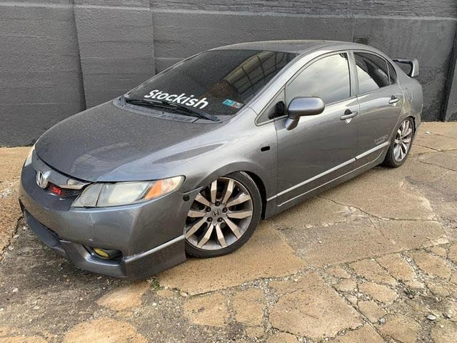 2011 Honda Civic Si with Summer Tires