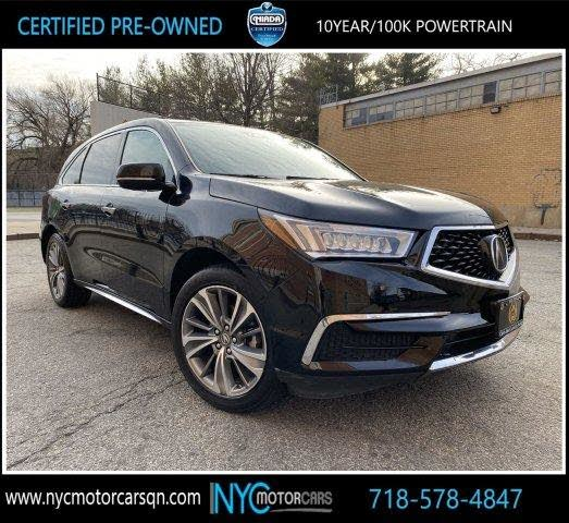 Used 2017 Acura MDX SH-AWD With Technology Package For