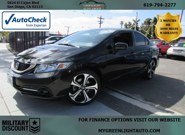 2014 Honda Civic Si with Summer Tires