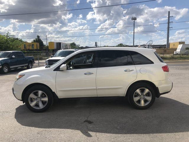 2008 Acura MDX SH-AWD with Power Tailgate and Technology Package