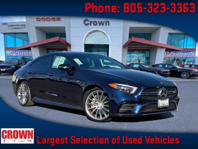 2019 Mercedes-Benz CLS-Class CLS AMG 53 S 4MATIC AWD
