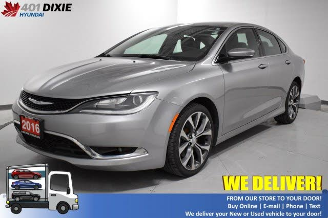 2016 Chrysler 200 C Sedan FWD