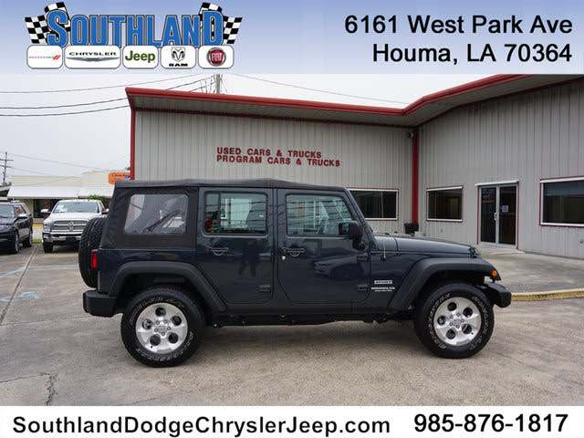 Used Jeep Wrangler Unlimited for Sale in New Orleans, LA ...