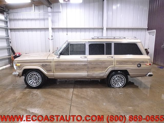 used jeep grand wagoneer 4 dr std 4wd suv for sale with photos cargurus cargurus