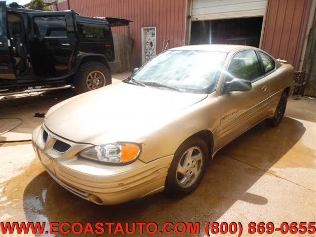 1999 Pontiac Grand Am 2 Dr SE1 Coupe