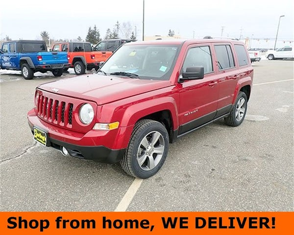 Certified 2017 Jeep Patriot High Altitude 4WD For Sale in ...