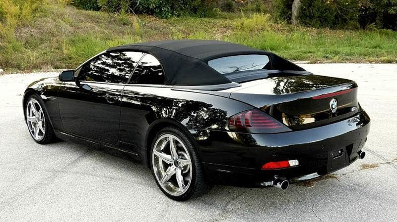 Used 2004 Bmw 6 Series 645ci Convertible Rwd For Sale  With Photos