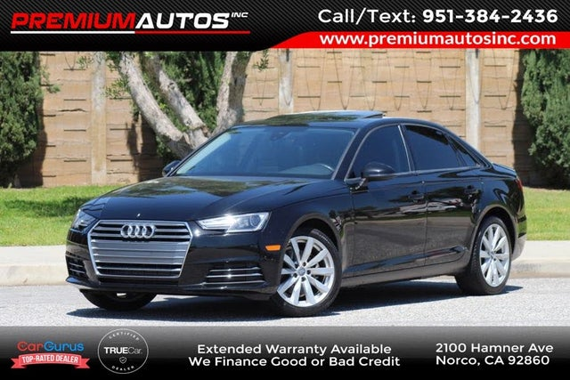 2017 Audi A4 2.0T ultra Premium Plus Sedan FWD