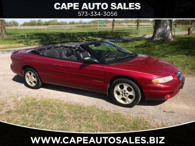 Used 1998 Chrysler Sebring Jxi Convertible Fwd For Sale With