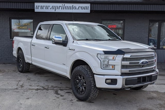 2015 Ford F-150 Platinum SuperCrew LB 4WD