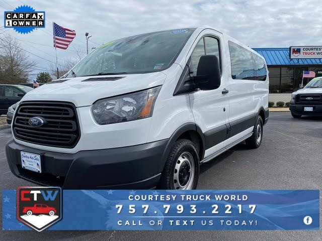 2016 Ford Transit Passenger 150 XL Low Roof RWD with Sliding Passenger-Side Door