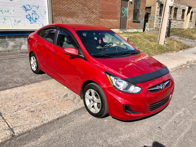 2012 Hyundai Accent L Sedan FWD