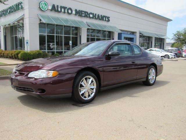 used 2003 chevrolet monte carlo ls fwd for sale right now cargurus used 2003 chevrolet monte carlo ls fwd