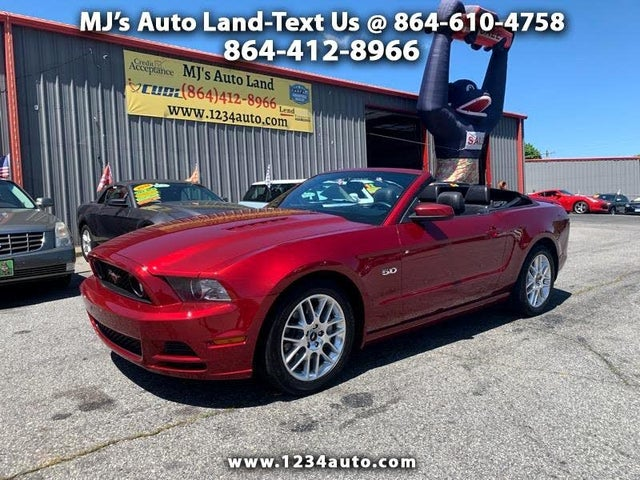 2014 Ford Mustang GT Convertible RWD
