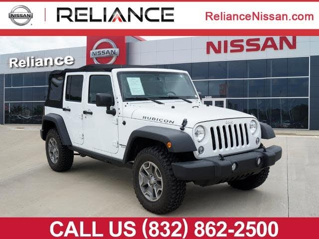 Used Jeep Wrangler Unlimited For Sale In Houston Tx Cargurus