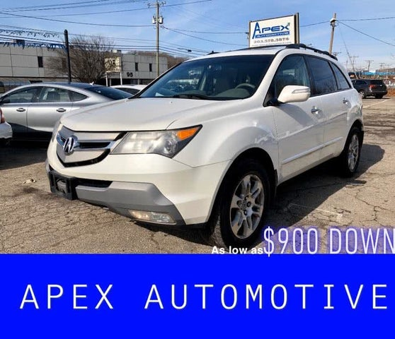 Used 2008 Acura MDX SH-AWD With Technology And