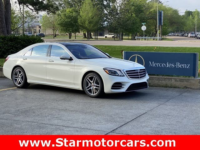 2020 Mercedes-Benz S-Class S 450 4MATIC Sedan AWD