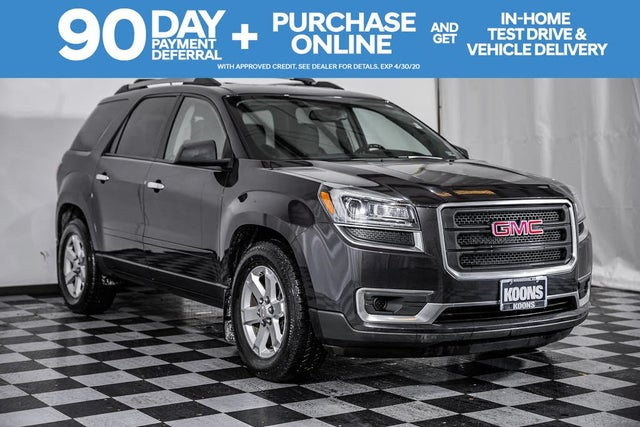 2015 GMC Acadia SLE-2 AWD for Sale in Washington, DC ...