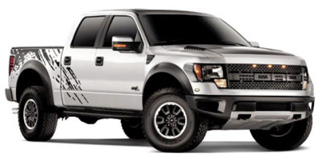 2012 Ford F-150 SVT Raptor SuperCrew 4WD