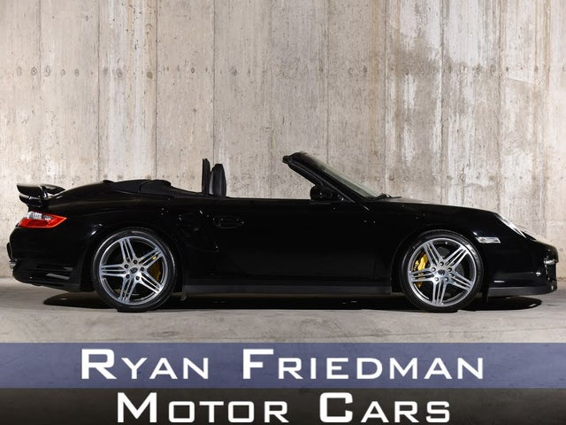 2008 Porsche 911 Turbo AWD Convertible