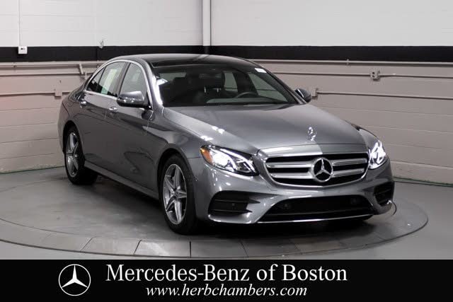 2018 Mercedes-Benz E-Class E 300 4MATIC Sedan AWD