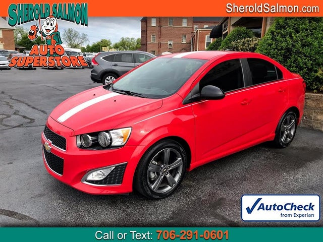 2016 Chevrolet Sonic RS Sedan FWD