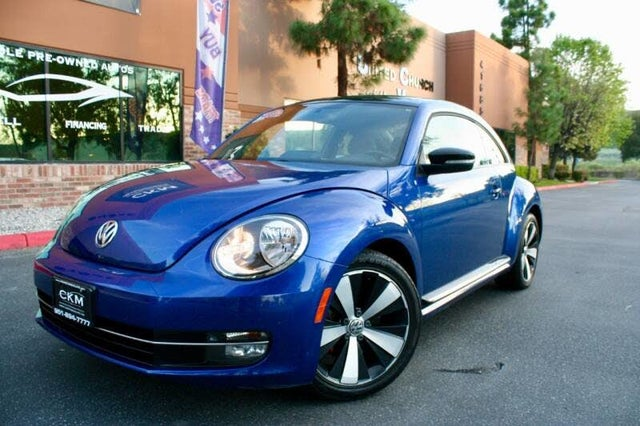 2013 Volkswagen Beetle Turbo with Sunroof, Sound, and Navigation