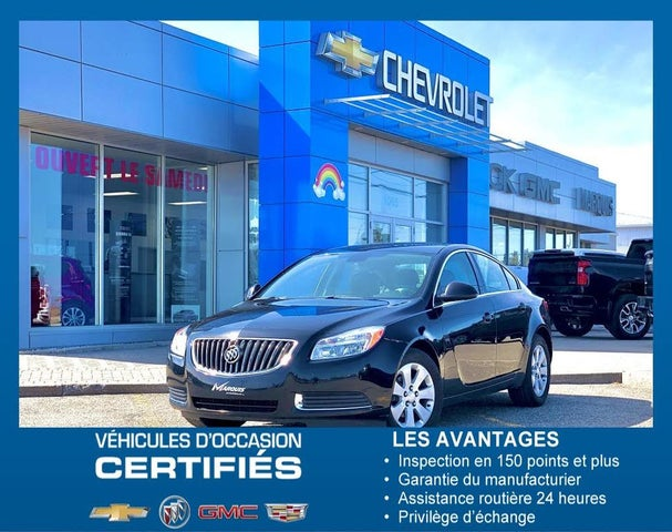 2012 Buick Regal Sedan FWD