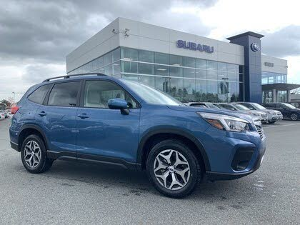2019 Subaru Forester 2.5i Convenience AWD with EyeSight Package