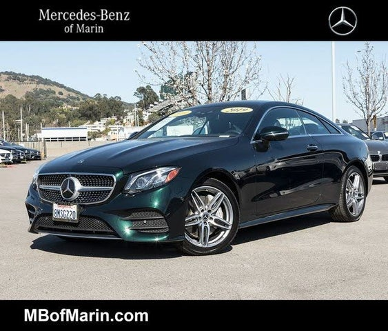 Used 2019 Mercedes-Benz E-Class E 450 4MATIC Coupe AWD For