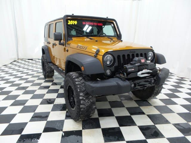 2014 Jeep Wrangler Unlimited Willys Wheeler Edition 4WD
