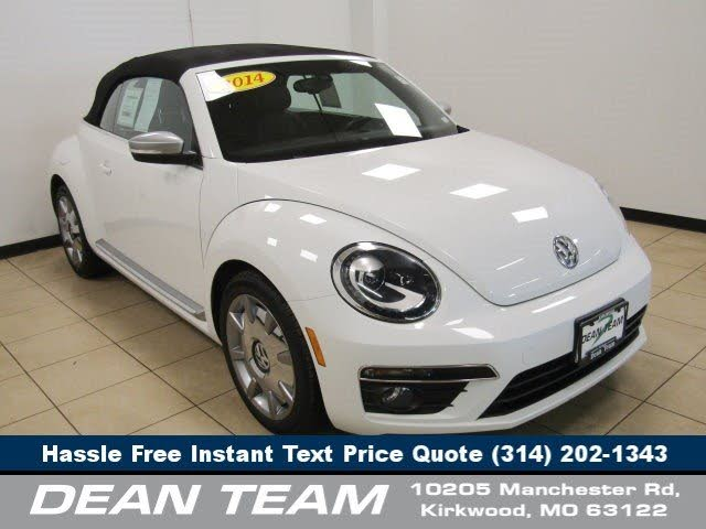 2014 Volkswagen Beetle TDI Convertible with Sound and Navigation