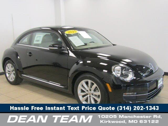 2015 Volkswagen Beetle TDI with Sunroof, Sound, and Navigation